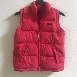 Lands End Puffy Vest - Small